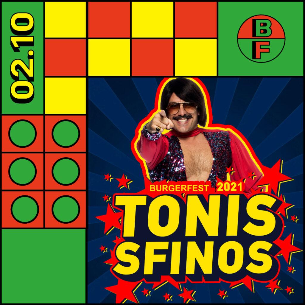 Tonis Sfinos στο Burger Fest